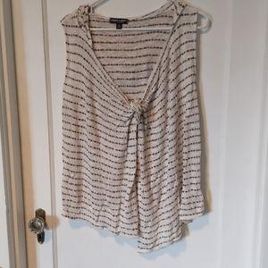 Summer hooded vest